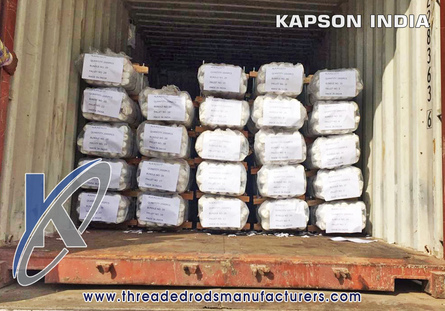 Threaded Rods Exporters Manufacturers in India Punjab Ludhiana