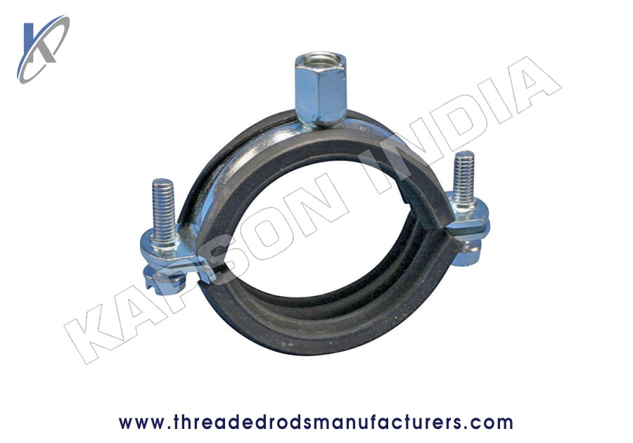 Pipe Clamp Rubber Lined