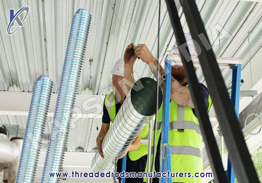 Threaded Rods for HVAC Systems